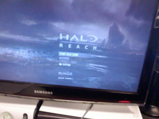 Halo: Reach Launch Screen