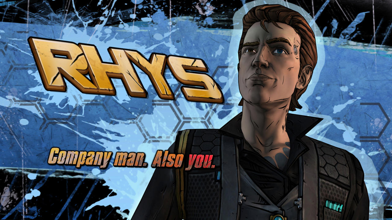 Borderlands Rhys