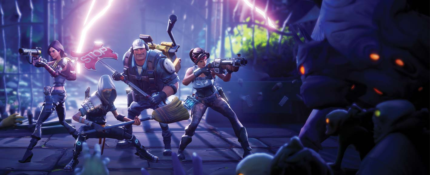 Hands-On Fortnite at E3 2015 - Epic's New Team Fortress-Building ...